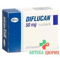 Дифлюкан 50 мг 28 капсул