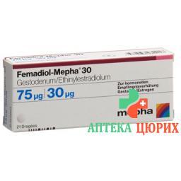 Фемадиол Мефа30 6 X 21 драже