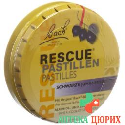 Bachbluten Rescue пастилки Blackcurrant