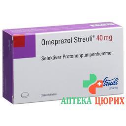 Омепразол Штройли 40 мг 28таблеток покрытых оболочкой