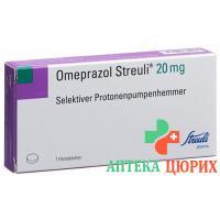 Омепразол Штройли 20 мг 7таблеток покрытых оболочкой