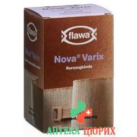 Flawa Nova Varix Kurzzugbinde 8смx5m Hautfarben