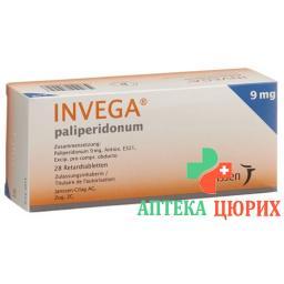 Инвега 9 мг 28ретард таблеток