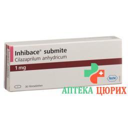 Инибак Субмит 1 мг 30 таблеток покрытых оболочкой