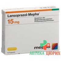 Лансопразол Мефа 15 мг 112 капсул