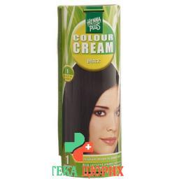 Henna Plus Colour крем 1 Schwarz 60г