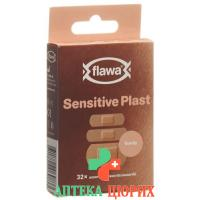 Flawa Sensitive Plast Assortiert 32 штуки