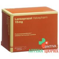 Лансопразол Хелвефарм 15 мг 56капсул