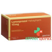 Лансопразол Хелвефарм 15 мг 112капсул