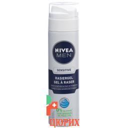 Nivea Men Sensitive Rasiergel 200мл