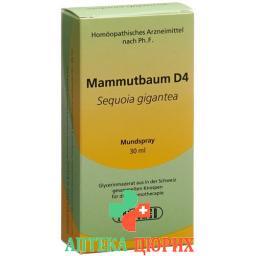 Phytomed Gemmo Mammutbaum жидкость D 4 30мл