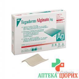 3M Tegaderm Alginate Ag компресс 10x10см 10 штук