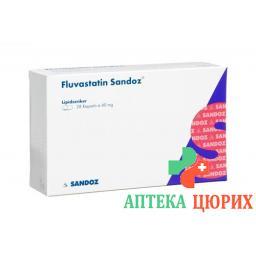 Флувастатин Сандоз 40 мг 28капсул