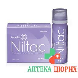 Niltac Entferner Wipes Medizin Klebstoffe 30 штук