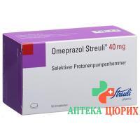 Омепразол Штройли 40 мг 56 таблеток покрытых оболочкой