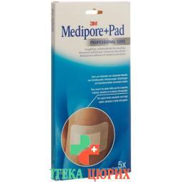 3M Medipore + Pad 10x20см / Wundkissen 5x15.5см 5 штук
