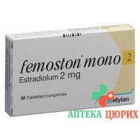 Фемостон Moнo 2 мг 28 таблеток покрытых оболочкой