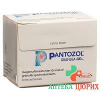 Пантозол гранулы 40 мг 5 х 30 пакетиков