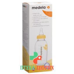 Medela Milchflasche mit Sauger 250мл M