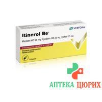 Итинерол В6 для взрослых и подростков от 12 лет 10 капсул
