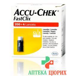 Accu Chek FastClix 34x6 ланцеты