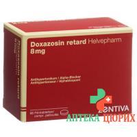 Доксазосин ретард Хелвефарм 8 мг 98 таблеток