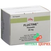 Флуктин 20 мг 100 капсул