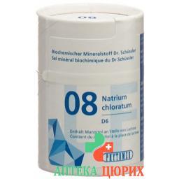 Phytomed Schussler Nr. 8 таблеток D 6 Lactosefrei 200 штук