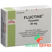 Флуктин 20 мг 30 капсул