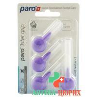 Paro 3Star-Grip 7мм Medium-Coarse Violett 4 штуки