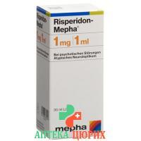 Рисперидон Мефа раствор 1 мг/мл 30 мл