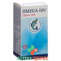Омега Лайф 500 мг 120 капсул