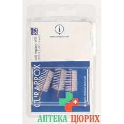 Curaprox CPS 512 Soft Implantatbursten Violett 3 штуки