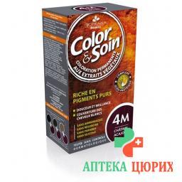 Color Et Soin Coloration Chatain Acajou 4m 135мл