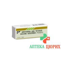 Дт Педиатрик 0.5 мл вакцина детские ампулы