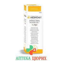 Medihoney Medical Wound гель Antibacteria 5 в тюбике 20г