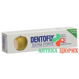 Дентофикс Экстра Форте фиксирующий крем для зубных протезов 40 г