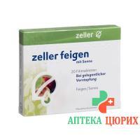 Целлер Инжир и Сенна 20 таблеток покрытых оболочкой