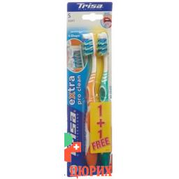Trisa зубная щётка Extra Duo Soft