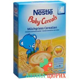 Nestle Baby Cereals Milchgriess Cerealien для 4-месячных 450г