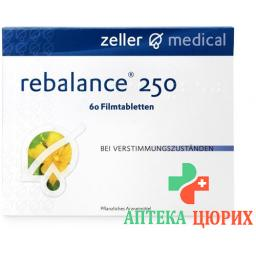 Ребалансе 250 мг 60 таблеток покрытых оболочкой