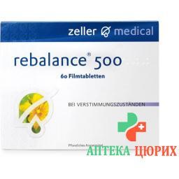 Ребалансе 500 мг 60 таблеток