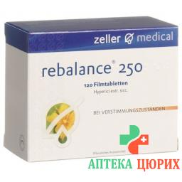 Ребалансе 250 мг 120 таблеток покрытых оболочкой