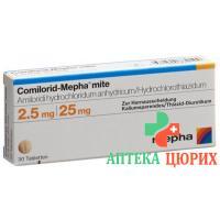 Комилорид Мефа Мите 2,5/25 мг 100 таблеток