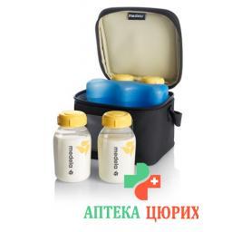 Medela Kuhltasche 4 Milchflaschen (150мл) 1 Kuhlelement