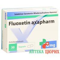 Флуоксетин Аксафарм 20 мг 30 капсул