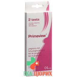 Ind Hcg Midstream Pregnancy Test Mini 2 штуки