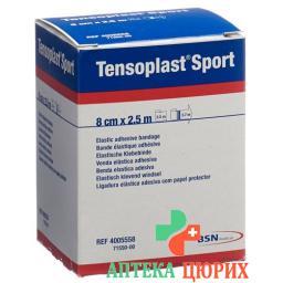 Tensoplast Sport эластичный бинт 8см x 2.5м