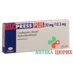 Блопресс Плюс 32/12,5 мг 98 таблеток
