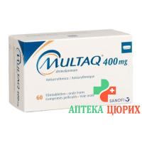 Мултаг 400 мг 60 таблеток покрытых оболочкой